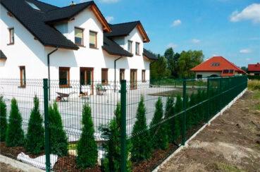 3д забор для частного дома