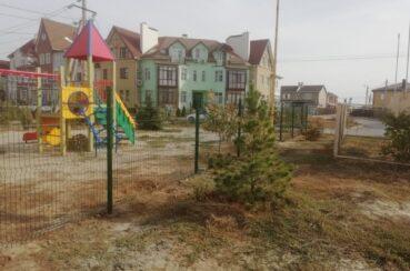 3д забор для многоквартирного дома