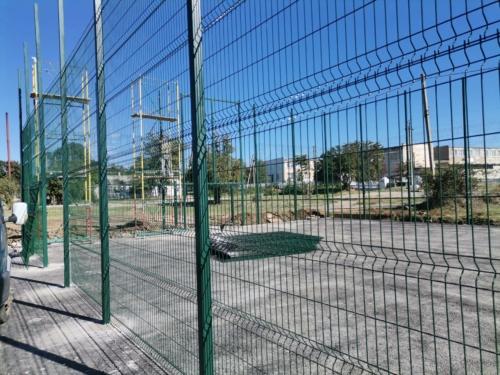 ограждение для спортивной площадки