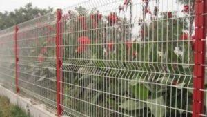 забор для цветников