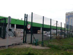 забор для склада