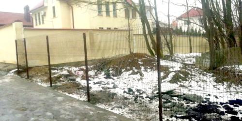 монтаж 3д забора в Ростове